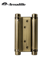 "4"" SS 201 Bronze Double Action Spring Hinge"