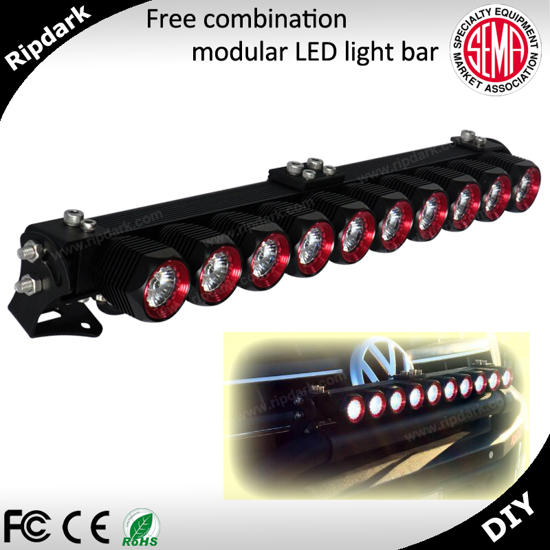 20'' 40'' hottest for truck suv 250cc spare parts ATV offroad led work light bar flood