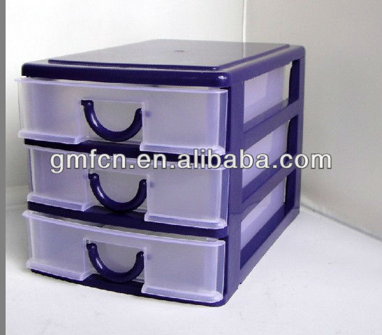 Hot sale 4 layers plastic storage drawers