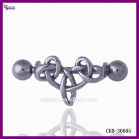 Surgical Steel Body Jewelry Vibrating Nipple Rings