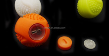 FDA Nontoxic Silicone Dog Ball Launcher Motion Activated Glow Ball for Pet Cat