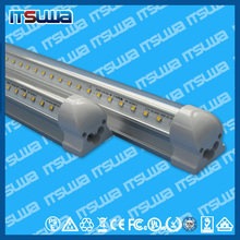 Best price good power IP44 IP Rating and Aluminum Lamp Body Material led T8 integrated V shape led tube lights