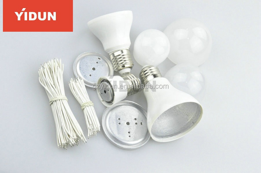 China manufacturer 3W/4W/5W E27/E14/E22 led bulb spare parts/led bulbs housing