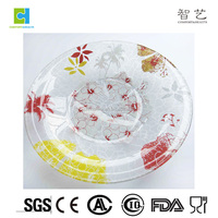 High Quality Wholesale Cheap Clear Glass Salad Plates
