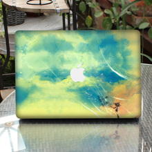 PAG sunset glow laptop sticker/high quality pvc cover for macbooks