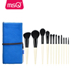 MSQ 12pcs high quality synthetic hair makeup brush set good quality nylon hair cosmetics brush wholesale