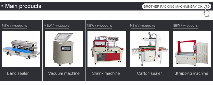 Brother Fully Chamber Continuous Meat Sea Food chicken packing machine Automatic Vacuum Sealer Food Packaging Machines