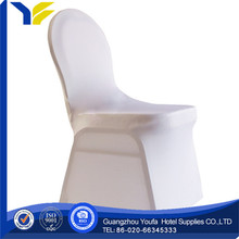 arm Guangzhou satin damask chair cover organza sashes