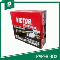 STRONG CORRUGATED PAPER BOX FOR WELDING AND CUTTING OUTFIT