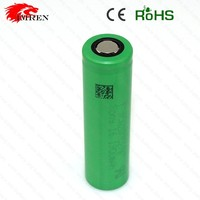 Original US18650V3 2250mah high discharge rate battery cells,for vape shop