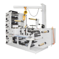 UV Lamps New Longway Plastic Film Six Colour Fabric Flexo Press Printer Machinery For Printing Flexo Hi Speed