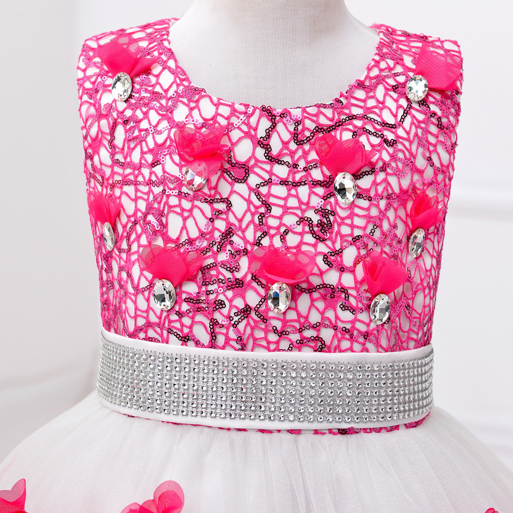 New girl's princess dress and evening for children dress
