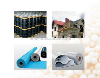 Eco Environmental High Cohesion Strength Hot Melt Pressure Sensitive Adhesives for HDPE Waterproof Material