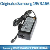 original CPA09-004A 19v 3.16a Laptop adapter for samsung charger 60w 3.0*1.1mm