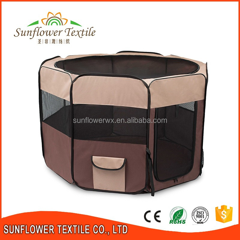 Collapsible pet dog cage/dog cage metal