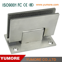 90 degree clamp for threaded rod decorative removable loaded shower door pivot glass gate hinge