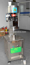 Guangzhou semi automatic tin can cap hand operated sealing machine