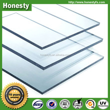 Soundproof china supplier transparent solid polycarbonate roofing sheet