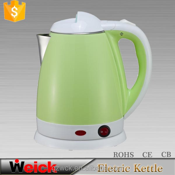 electric Kitchen appliance 100% boiled water cordless stainless steel electric kettle,Weick OEM