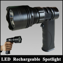 JG-T61-LA hunt projector trunk rechargeable torches for shotgun rifle mounted spotlight