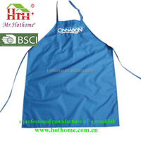 Custom design logo apron/cleaning kitchen tool apron/apron of uniform