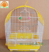 bird cage suppliers 30x23x39cm yellow color bird breeding cage