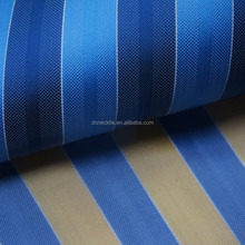 blue stripe silk fabric