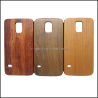 PC wood mobile phone case, fancy cell phone cover case for samsung galaxy s5