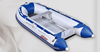 High quality aluminum floor inflatable boat 3-5m 5-6 people for sales