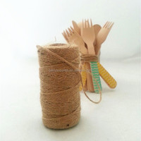 Natural Jute Twine string for gift tag gift wrapping string