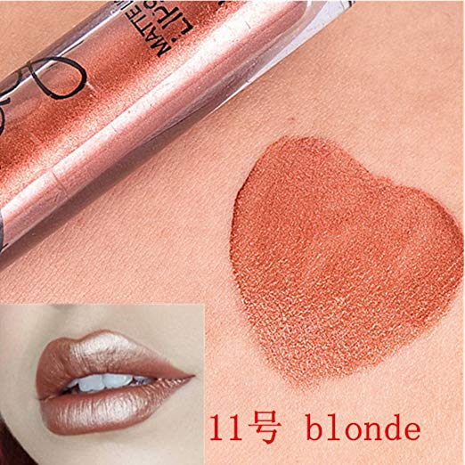 2018 Long lasting 24 Hours Matte Liquid Lipstick Make Up Lipstick