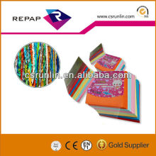 various pattern origami papers /folding colored origami art paper