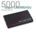 5000mAh Metal power bank Polymer Li-ion Battery Kayo M10 For iPhone, IPAD, Samsung, Motorola, Nokia,
