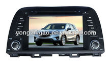 [YZG]Touch screen car DVD Player for MAZDA CX-5(8'')with GPS navigation,high quality ,favorable price