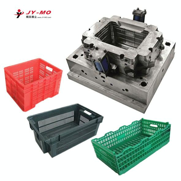 plastic crate mould,plastic injection fruit basket mold