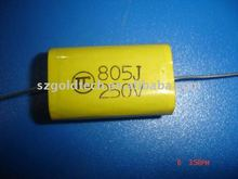 Yellow fever feedthrough capacitor capacitor 250V 8UF thick width 19 * 11 * 31MM long