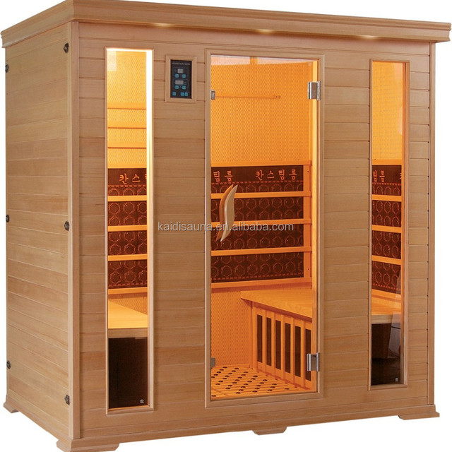 xuzhou mica carbon infrared sauna for 1- 4 person