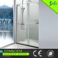 Easy installation stainless steel glass shower cabin shower screen