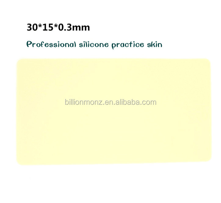 High quality professional tattoo silicone practice skin for beginner,makeup practice tattoo skin