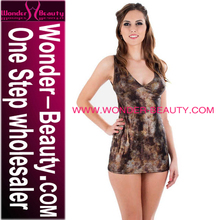 wholesale price brown backless adult girls sexy lingerie