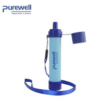 Outdoor Survival portable filtration system purification UF Membrane water filter straw