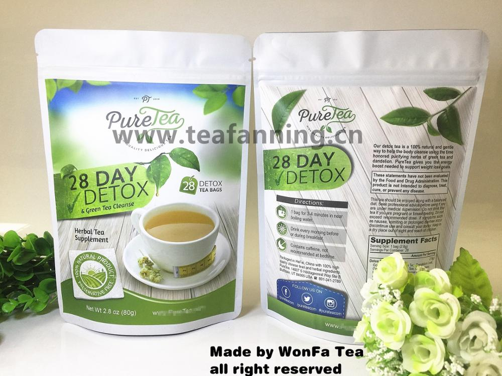 The 14 day Detox Slim Tea with customized service