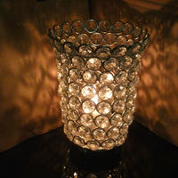 Crystal Chimney Votive