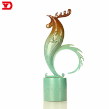 Hot sale Chinese style decoration bronze cock sculpture
