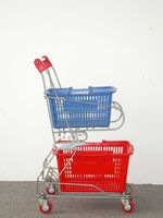 shopping trolley with bag