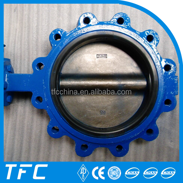 API 609 C95800 B148 Gear Operated cryogenic butterfly valve