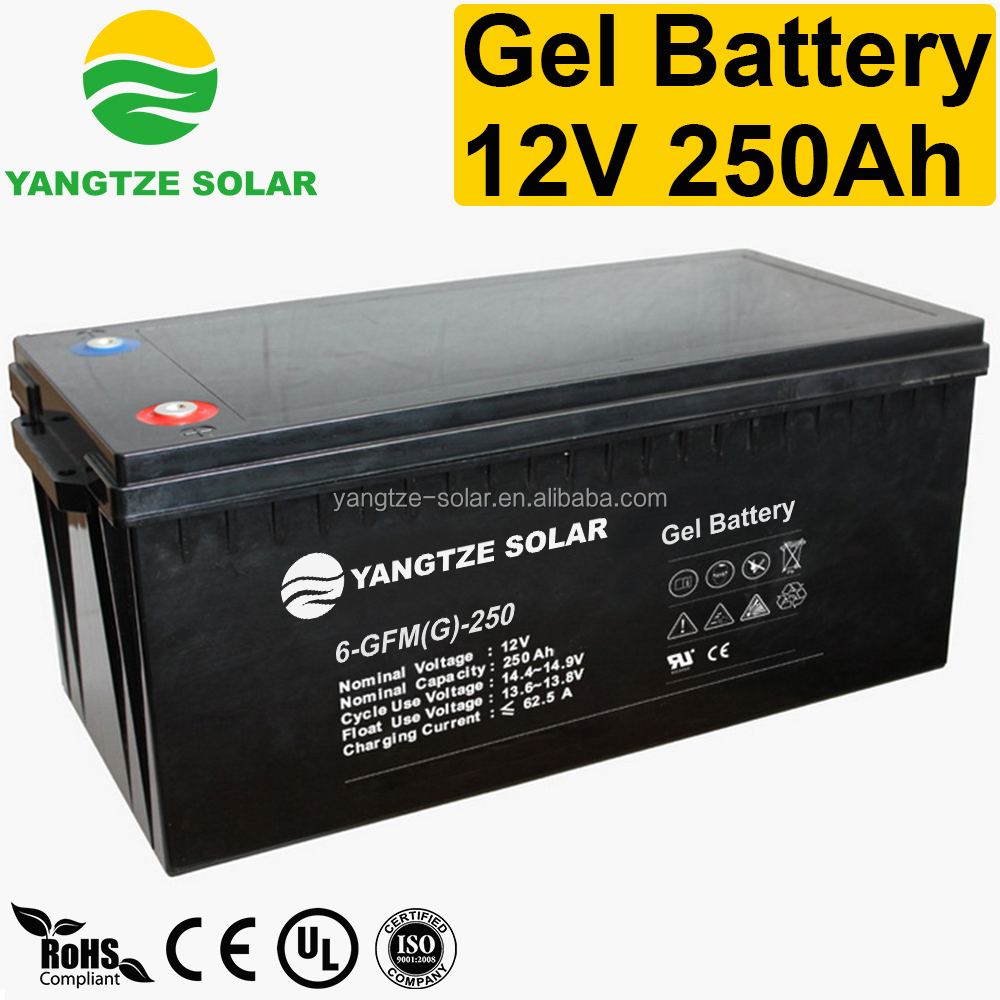 deep cycle 12v 250ah inverter battery