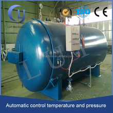 high temperature PLC control rubber vulcanization process