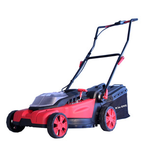 N in ONE 18V+18V Battery cordless electric lawn mower