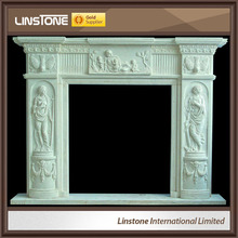 High quality victorian marble fireplace